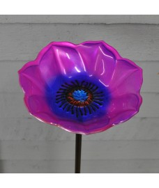 Glass Anemone Bird Feeder