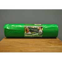 25 Green Plastic 75L Garden Sacks by Kingfisher