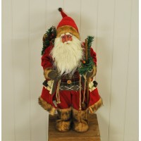 Father Christmas Santa Figure Decoration Ornament