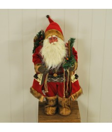 Father Christmas Santa Figure Decoration Ornament by Kingfisher