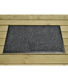 WetGard Black & Grey Dirt Trapper Doormat by Gardman