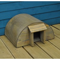 Wooden Hedgehog House by Garden Trading