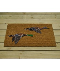 Flying Ducks Coir Doormat by Gardman