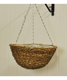 Rattan Country Hanging Basket (35cm) by Smart Garden
