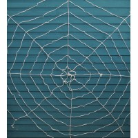 White Spiders Web for Halloween by Premier
