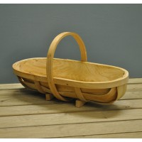 Traditional Wooden Garden Trug (Large) by Burgon and Ball