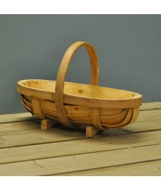 Traditional Wooden Garden Trug by Burgon and Ball
