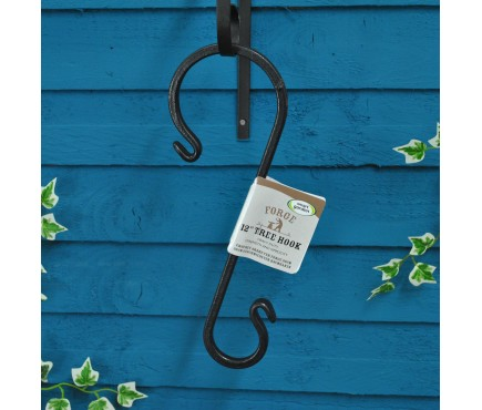 Forge Tree Hook for Bird Feeders and Hanging Brackets by Smart Garden