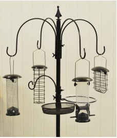 Premium Hammertone Bird Feeding Station by Kingfisher