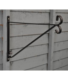 Metal Hanging Basket Bracket (38cm) by Kingfisher