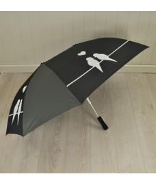 Double Size Lovers Umbrella with Birds Design by Fallen Fruits