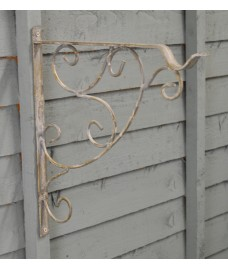 Metal Loire Hanging Basket Bracket (35cm) by Gardman