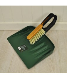 Dustpan And Wooden Brush Set by Garland