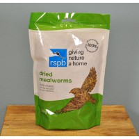 Mealworm Bird Food Pouch 200g RSPB Approved by Gardman