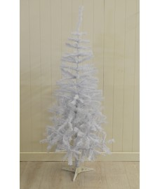 5ft (150cm) White Pine Artificial Christmas Tree by Kingfisher