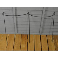 Garden Hoop Plant Support System 45cm x 60cm (Pack of 2)