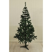 6ft (180cm) Green Pine Artifical Christmas Tree by Kingfisher