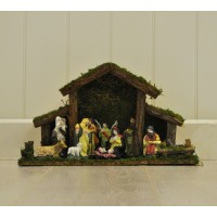 Traditional Christmas Nativity Scene by Kingfisher