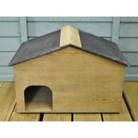 Norfolk Wooden Hedgehog House by Gardman
