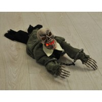 Animated Crawling Zombie Ghoul Decoration by Premier