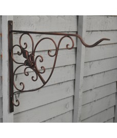 Metal Versailles Hanging Basket Bracket (35cm) by Gardman