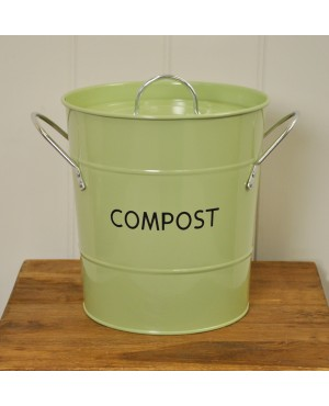 Sage Compost Caddy..
