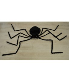 Giant Black Spider Decoration by Premier