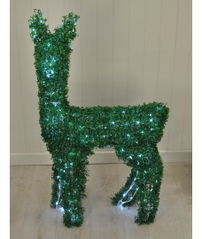 Standing Artificial Topiary Pre-lit Christmas Reindeer (200 LEDs) by Westwoods