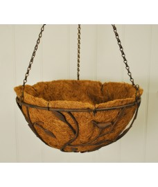 Metal Nature Hanging Basket (35cm) by Gardman