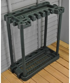 Garden Tool Rack Storage With Wheels
