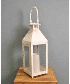 Cream Battery Operated Hampton Candle Lantern by Gardman