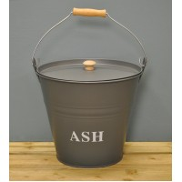 Fireside Ash Bucket - Charcoal by Garden Trading