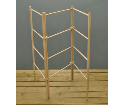Zig Zag Wooden Clothes Dryer by Garden Trading