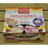 6 Pack Scented Dehumidifier Moisture Absorber by Kingfisher