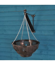 Easy Fill Hanging Basket (36cm) with Bracket