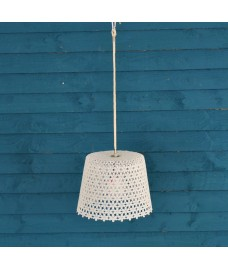 Outdoor Hanging Battery Lamp by Fallen Fruits