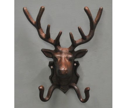 Cast Iron Stag Coat Hook by Fallen Fruits