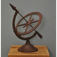 Small Cast Iron Sundial by Fallen Fruits
