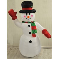 Inflatable Snowman (240cm) Kingfisher