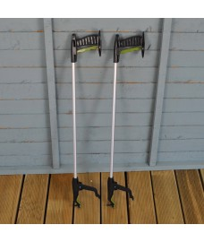 Set of 2 Strong Litter Picker, Pick Up & Reaching Tools by Gardman