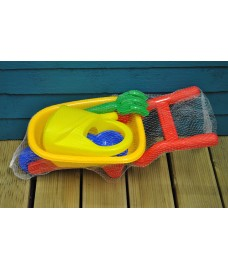 Children's Wheelbarrow Gardening Tool Set by Kingfisher