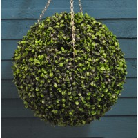 Artificial Boxwood Topiary Ball (40cm) by Smart Garden