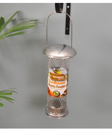 Deluxe Sunflower Seed Feeder for Wild Birds by Kingfisher