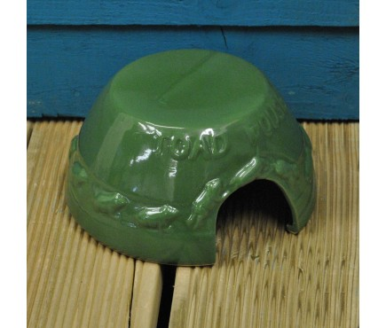 Ceramic Frog & Toad House by Fallen Fruits