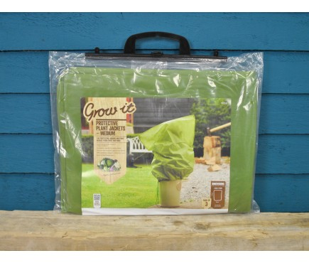 Pack of 3 Guard & Fleece Plant Protection Bags (Medium) by Gardman