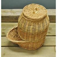 Wicker Willow Onion Storage Hopper