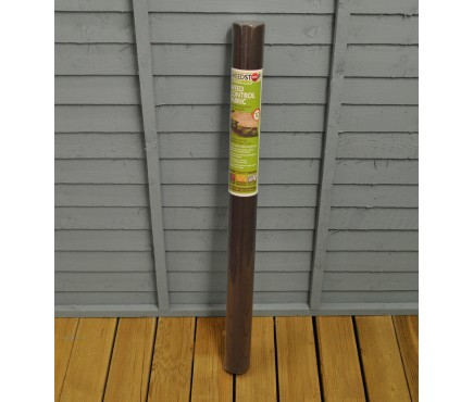 Weed Stop Super Tough Weed Control Fabric Roll (12 x 1m) by Gardman
