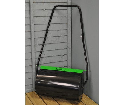 Large Garden Water or Sand Filled Lawn Roller (50cm x 30cm)