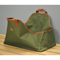 Canvas Wood & Log Carrier Bag by Fallen Fruits