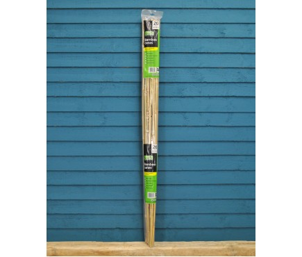 Pack of 20 Bamboo Canes (120cm) by Gardman